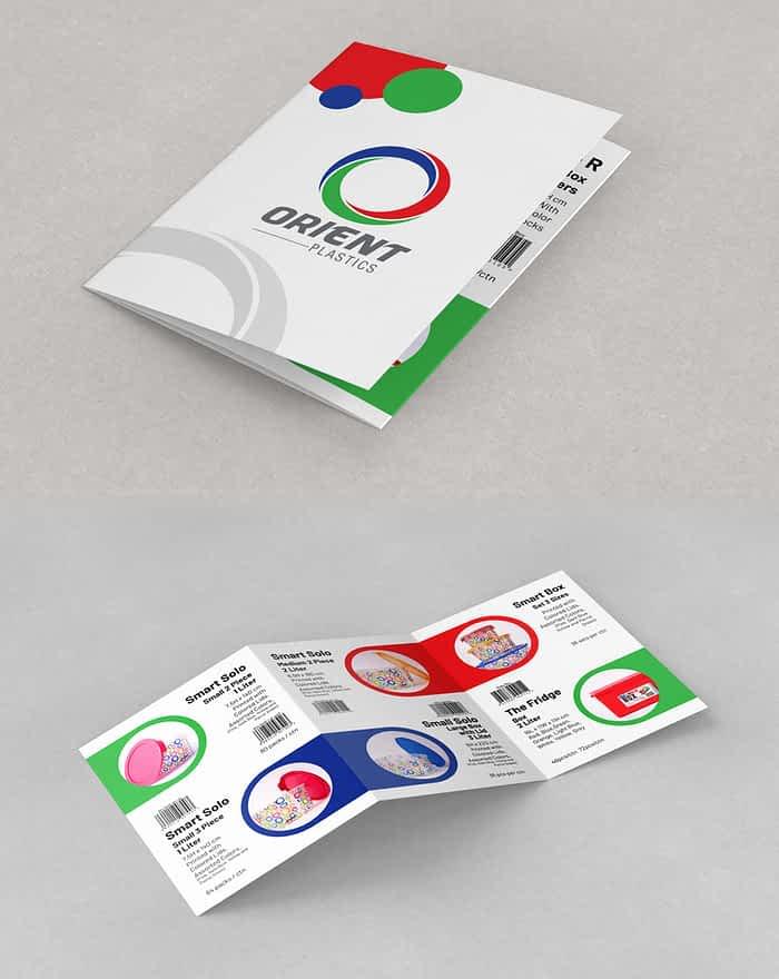 Orient Plastic's Catalog