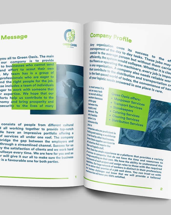 Green Oasis Company Profile